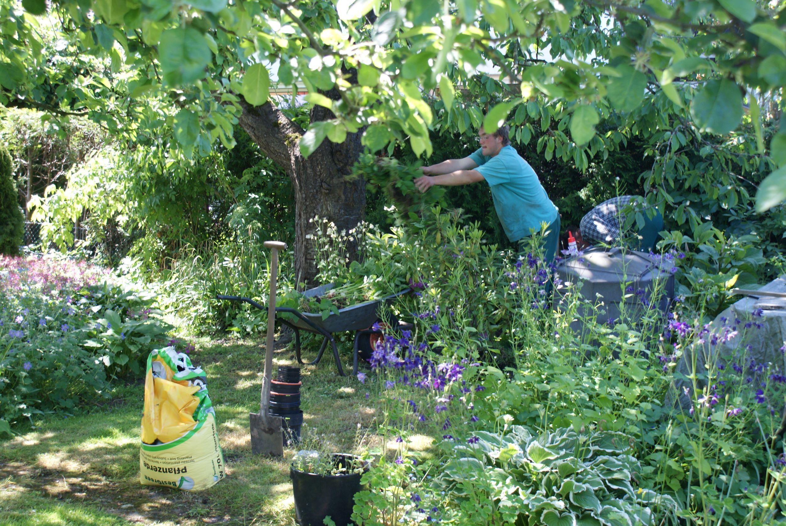 Gärtnerservice